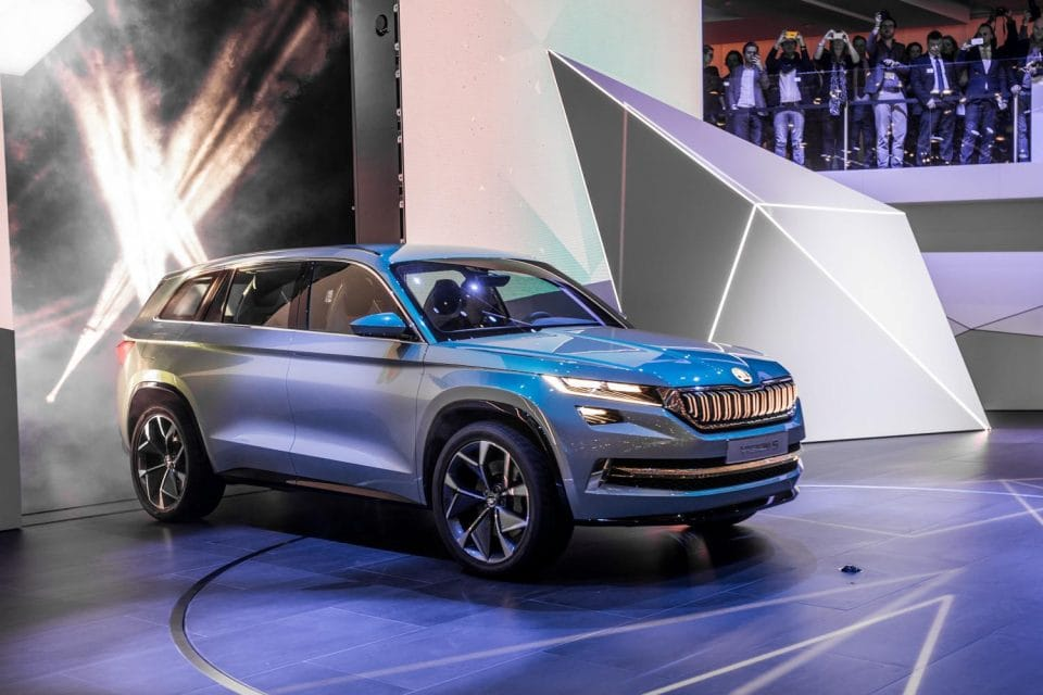 Ženeva 2016: Koncept Škoda VisionS naživo