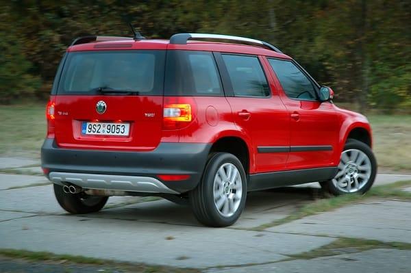 Českým autem roku 2010 se stala Škoda Yeti
