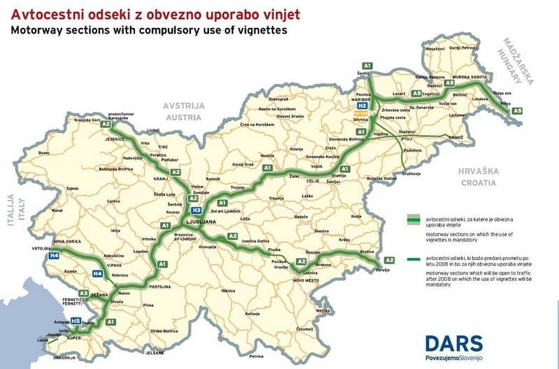 Přes Slovinsko bez půlročních dálničních známek, ale…