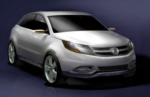 SsangYong C200: koncept, který určí budoucnost automobilky