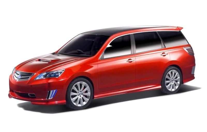 Subaru Exiga: sedmimístný dlouhán se představuje