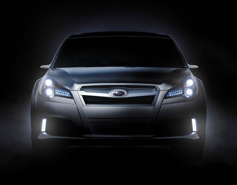 Subaru Legacy Concept: další obraz budoucnosti v Detroitu