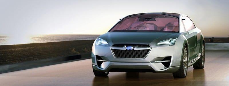 FOTOGALERIE: Subaru představí Hybrid Tourer Concept