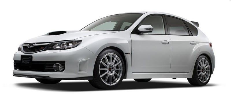 Subaru Impraza WRX STI 20th Anniversary: jen v Japonsku