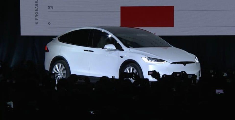 Tesla představila Model X, SUV na elektřinu s dojezdem 400 km