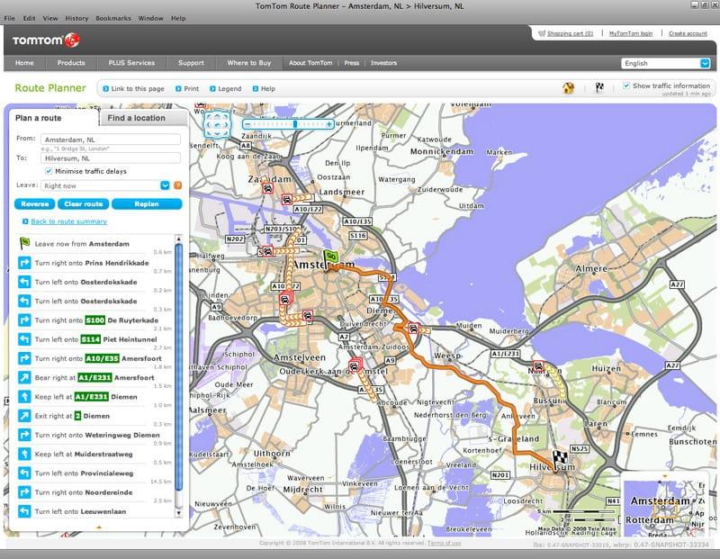 TomTom Route Planner: nový online plánovač tras