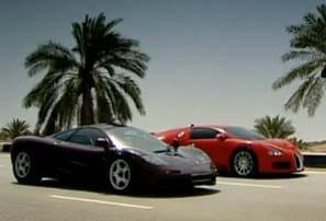 VIDEO: Kdo je rychlejší? Bugatti Veyron vs. McLaren F1