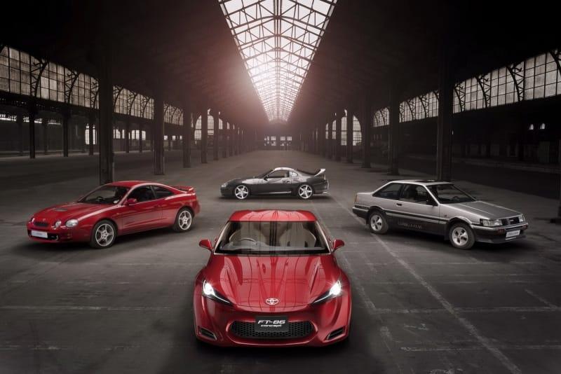Toyota FT-86 Concept: prohlédněte si novou Celicu