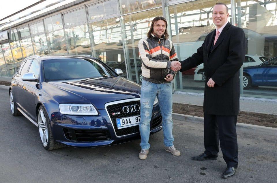 Fotbalista Tomáš Ujfaluši si vybral nové auto: Audi RS6