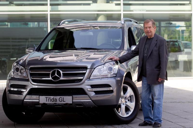 Václav Havel má nové auto: Mercedes-Benz GL 500