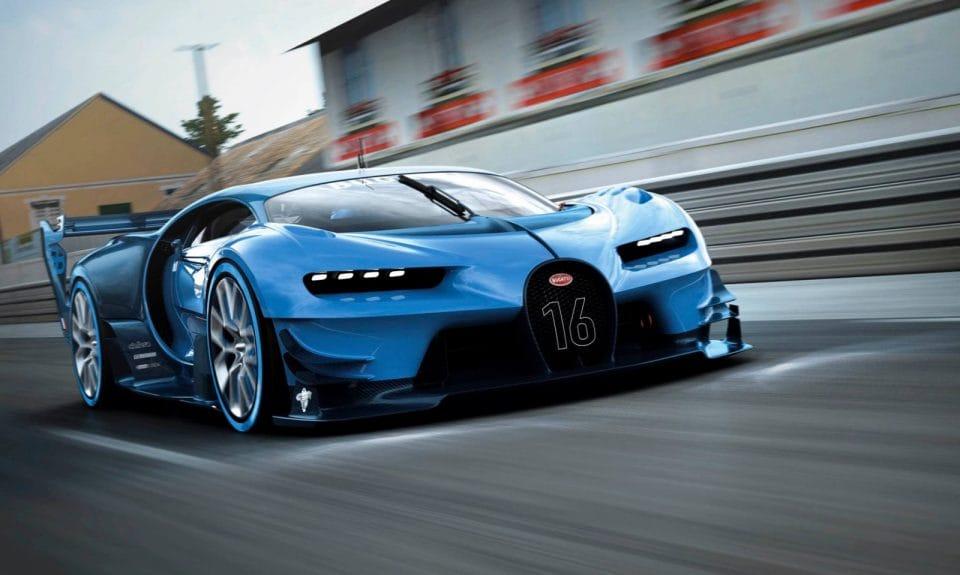 Frankfurt 2015: Koncept Vision Gran Turismo naznačuje budoucnost Bugatti