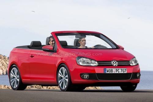 Volkswagen Golf Cabrio: otevřená verze už na jaře 2011