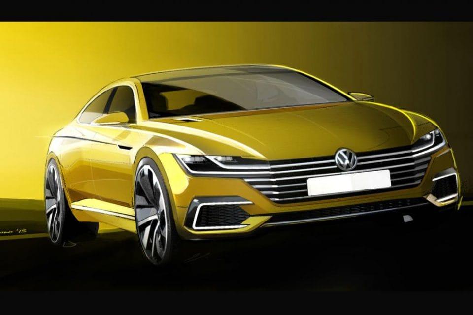 Volkswagen CC zatím jako koncept, sériově v roce 2017