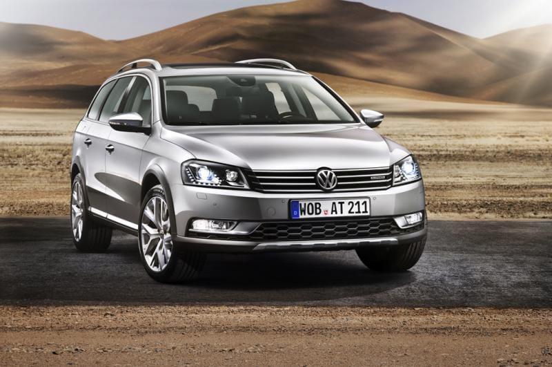 Volkswagen Passat Alltrack určen do terénu. Po vzoru allroadu