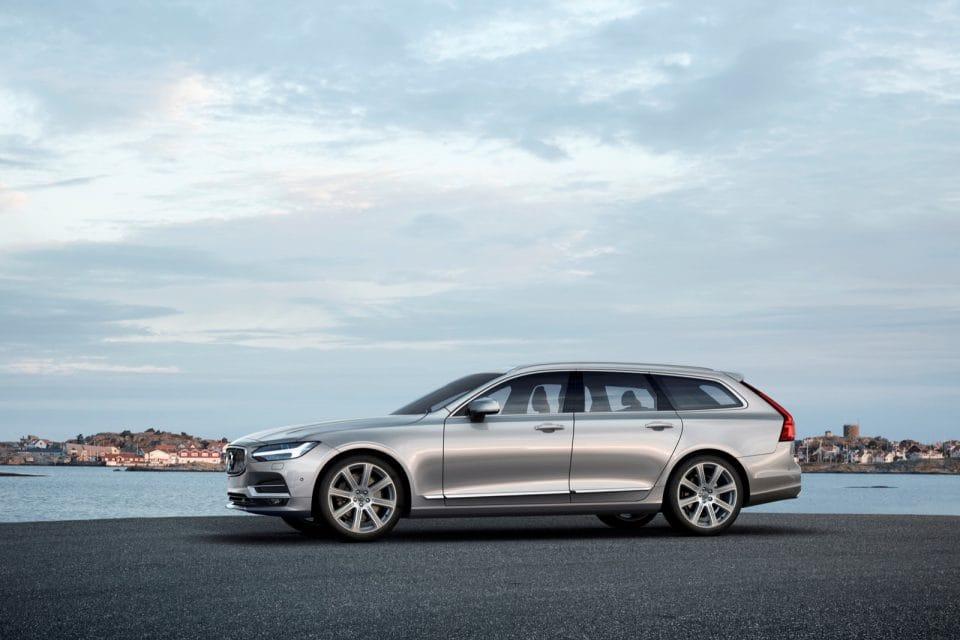 Volvo V90 představeno. Do prodeje jde v druhé půlce roku
