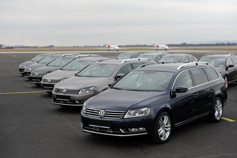 Dvacet nových policejních Volkswagenů Passat 3.6 FSI doplnilo stávající R36ky