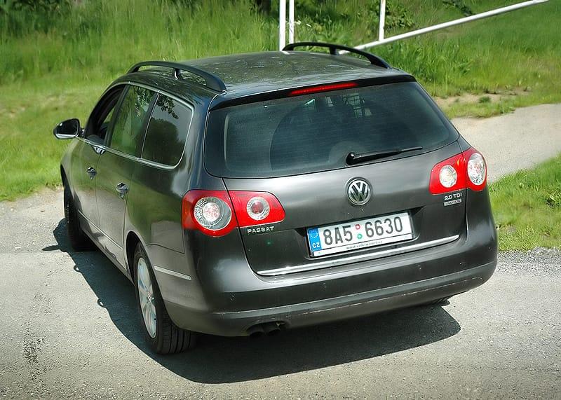 Volkswagen Passat Variant 4Motion: podnikatel v terénu