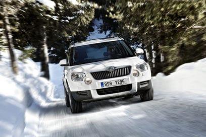 Škoda Yeti autem roku britského magazínu Auto Express