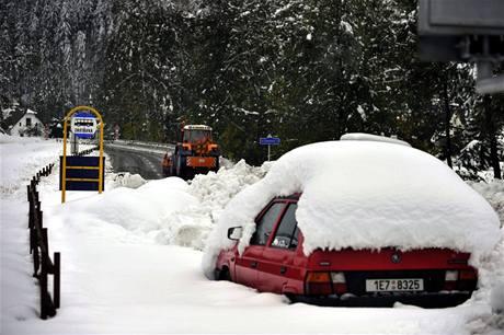 Sněhová kalamita má své vítěze: majitele SUV