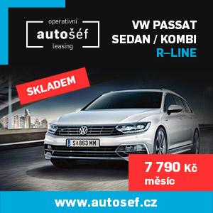 Prémiový operativní leasing na vozy Volkswagen / Audi / Škoda