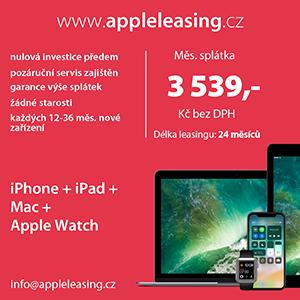 Operativní leasing Apple zařízení.