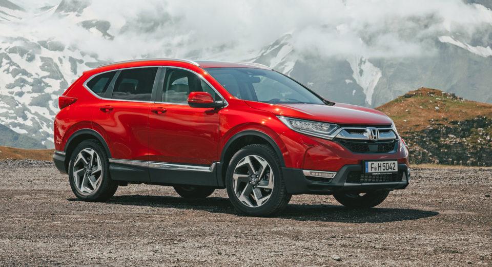 Honda CR-V v nové generaci, modelový rok 2019. Foto: Honda