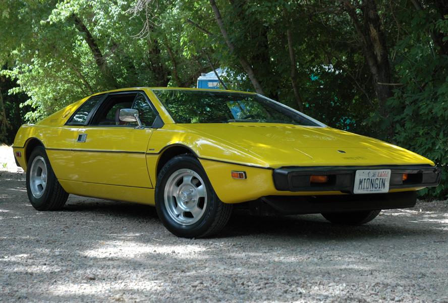 Lotus Esprit S1 z roku 1977, USA verze. Foto: Jeff Greenland