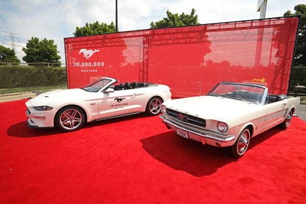 Deset milionů Mustangů. Ford vyrábí tohle auto od roku 1964