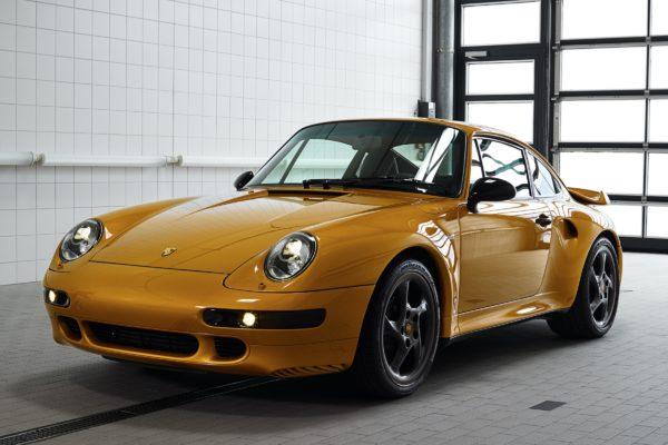 Nové dvacet let staré auto. Porsche vyrobilo vzduchem chlazenou 911 Turbo