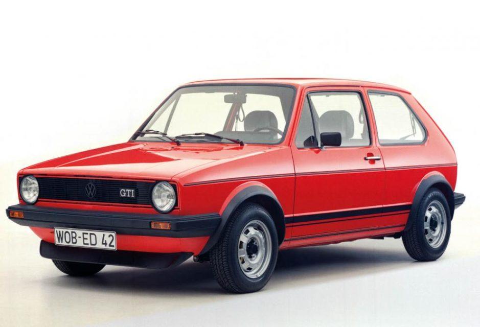 Volkswagen Golf GTI Mk1, 70. léta. Foto: Volkswagen