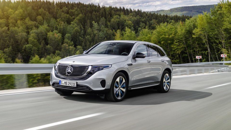 Mercedes-Benz EQC: do boje o zákazníky jde další elektrické SUV
