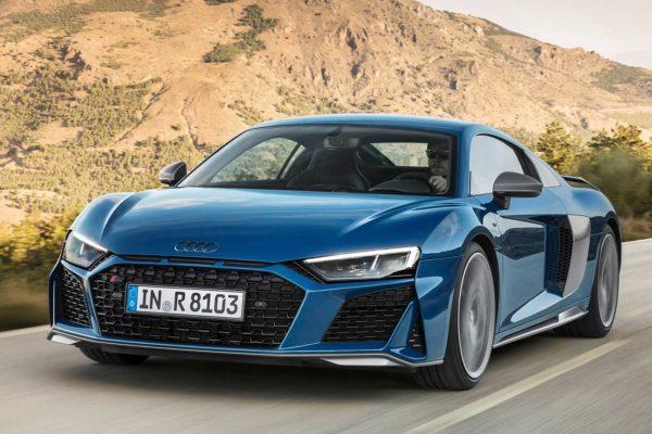 Audi R8 dostala poslední facelift, desetiválec má až 620 koní