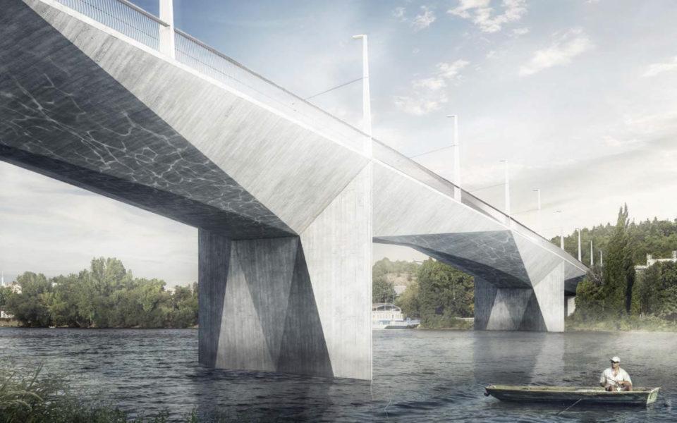 Ještě v tomto volebním období by se mohl začít stavět Dvorecký most. Automobily se na něj ale nedostanou. Foto: MHMP