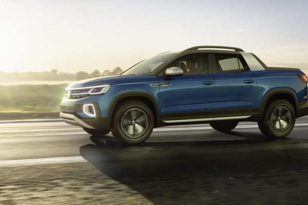 Stylový pickup Volkswagen Tarok. Dostane se do Evropy?